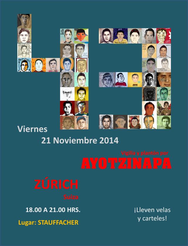Flyer Ayotzinapa 21 nov 2014 - version 3