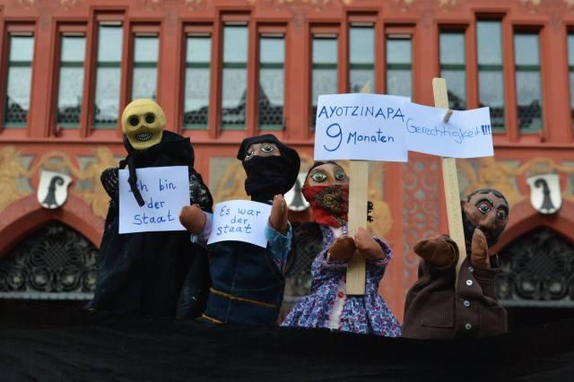 27-06-2015 BASEL: #Ayotzinapa9Meses