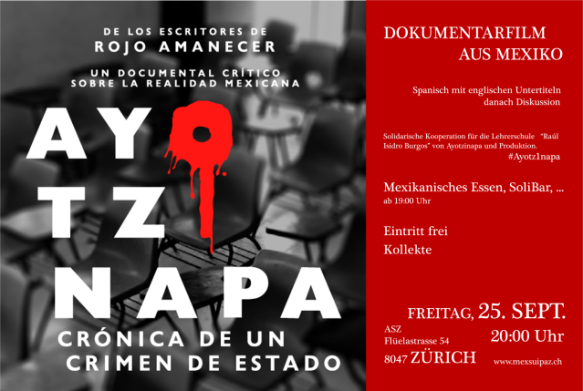Ayotzinapa Documental Suiza Zurich